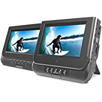 Ematic ED727 7 Dual Screen Portable DVD Player