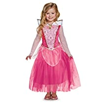Disguise Costumes Aurora Deluxe Disney Princess Sleeping Beauty Costume, X-Small/3T-4T