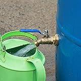 RAINPAL RBS024 V2 Brass Rain Barrel Spigot
