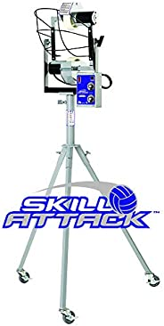Sports Attack 122-1100 Skill Attack Volleyball Machine, an Individual Training Tool for Serve Receive, Defensi