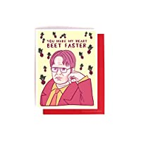 Dwight Schrute Beets Love Card - The Office Valentine