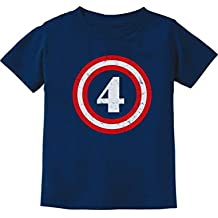 Captain 4th birthday kids T-shirt