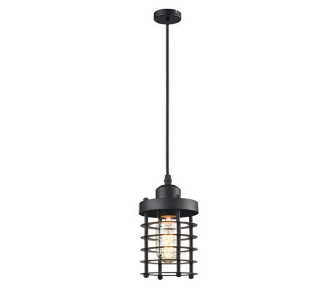 Wandlampenindustrielles verschobenes Lampen-Schwarz-Aluminium für Bar-Esszimmer-Restaurant-Keller-Keller etc. Einzelne Flamme E27