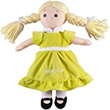 Personalized Big Sister Birthstone Doll - August