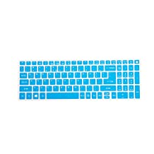 Leze - Ultra Thin Keyboard Cover for Acer Aspire V3-574 V3-575 V3-575T E5-573 E5-574G E5-575 E5-772G E5-532 V5-591G V15 V17 Nitro VN7-592G VN7-792G F15 F5-571 Laptop - Blue