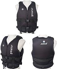 JUNKAI Life Jacket for Adult Kids Survival Floating Life Vest Swimming Vest Float Life Jackets Buoyancy Aid Ve