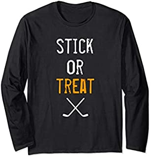 [Featured] Halloween Hockey - Gift for Hockey Player Halloween Hockey Long Sleeve in ALL styles | Size S - 5XL