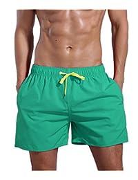 ORANSSI Surf Men's Quick Dry Swim Trunks Bathing Suit Beach Shorts