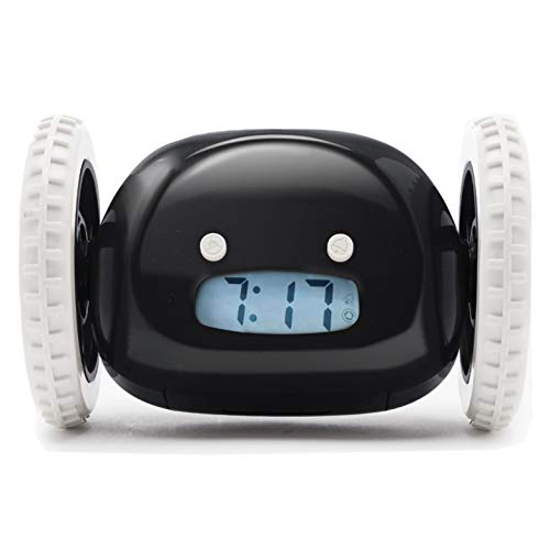 Clocky Alarm Clock On