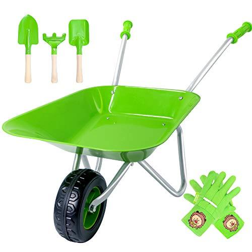 Hortem Durable Kids Wheelbarrow