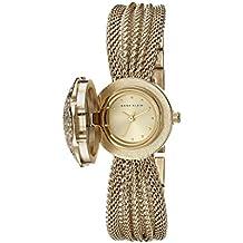 Anne Klein Women's AK/1046CHCV Swarovski Crystal Accented Watch