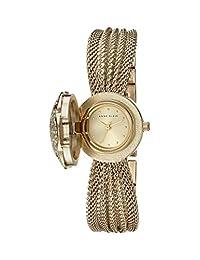 Anne Klein AK/1046CHCV Reloj para Mujer, Redondo, Análogo, color Oro