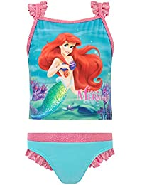 Disney Girls' Little Mermaid Two Piece Swim Set