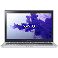 Sony VAIO T Series SVT13138CXS 13.3-Inch Touchscreen Ultrabook (2.0 GHz Intel Core i7-3537U Processor, 8GB DDR3, 256GB SSD, Windows 8) Silver