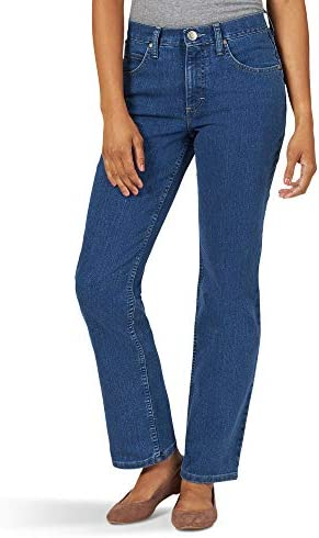 Riders through Lee Indigo Women's Classic-Fit Straight-Leg Jean