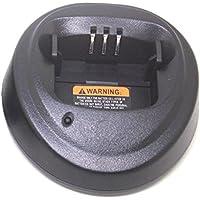 Heyrtz Rapid Desktop Charger for Motorola walkie talkie CP150 CP340 CP360 CP380 battery NNTN4496AR NNTN4851AR NNTN4497 NNTN4407