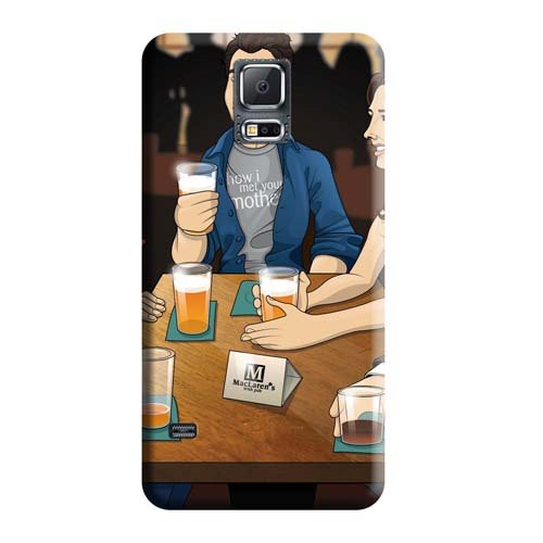 Premium Fashionable Design How I Met Your Mother Shatterproof Mobile Phone Cases Samsung Galaxy Note 4
