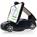 Car Dashboard Phone Holder, Universal Car Phone Mount with 360° Rotate Stable Sticky Base, GPS Holder Cradle, Compatible with iPhone Xs Max XR X 6S 7 8 Plus Samsung Galaxy Note 9 S8/S9 and More