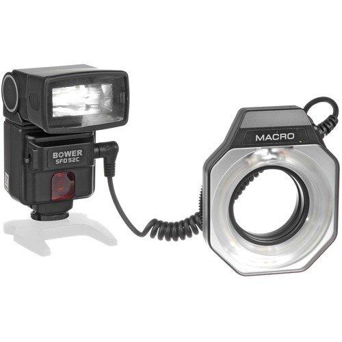 Bower Dual Intelligent Digital Speedlight for Canon EOS 7D, 5D, 60D, 50D, Rebel T3, T3i, T2i, T1i, XS Digital SLR Cameras (SFD52C)