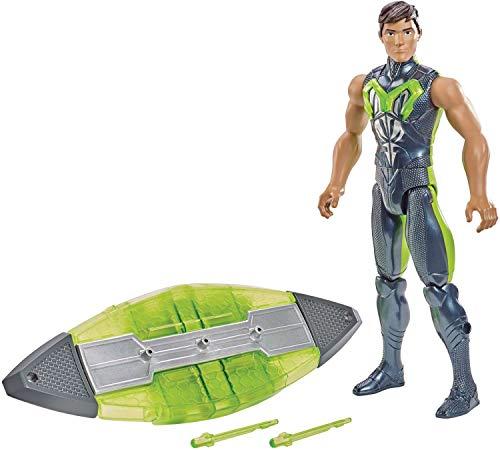 Max Steel Lançador Aquático Cinza Mattel Cinza
