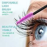 EZGO 300 Pack Multicolor Disposable Eyelash Mascara