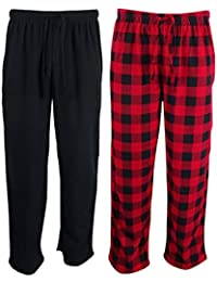 Men's Faux-Fleece 2-Pack Pajama Pants