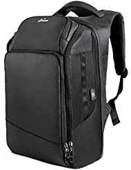 Travel Laptop Backpack Under 17 Inches Water Resistant Outdoor Business Anti Theft USB Charging Port College School...