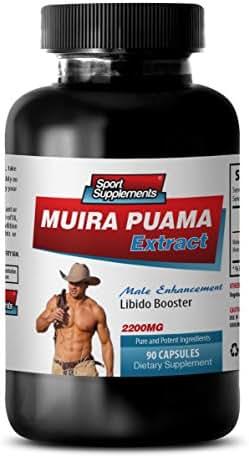libido Care - Muira PUAMA - Muira puama Plant - 1 Bottle (90 Capsules)