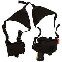 Tactical Cross Draw Shoulder Holster--Black