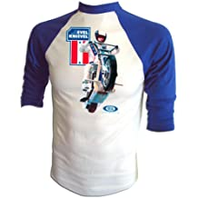 Vintage Evel Knievel 1973 Ideal Toy Company Stunt Cycle Promo Iron-On T-Shirt