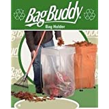 Trash Bag Holder - Multi-Use Bag Buddy Support Stand (30 - 33 Gallon Bags) by Bag Buddy