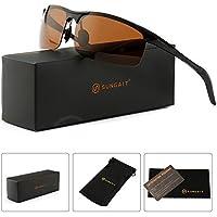 Sungait Polarized Metal Frame Men&#39s Sunglasses