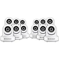 12-Pack Amcrest ProHD 1080P WiFi Wireless IP Security Camera - 1080P (1920TVL), IP2M-841 (White)