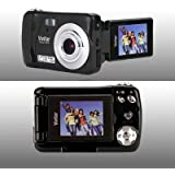 Sakar International VX014BLACK Vivitar 10.1MP 1.8 Flip Camera - Black