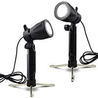 Selens Table Top Lighting kit Studio Continuous Portable Led Lamp with Stand for Video and Product Photography, Pack of 2 (Cool Wite)