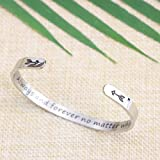 Long Distance Best Friend Jewelry Anniversary Gift
