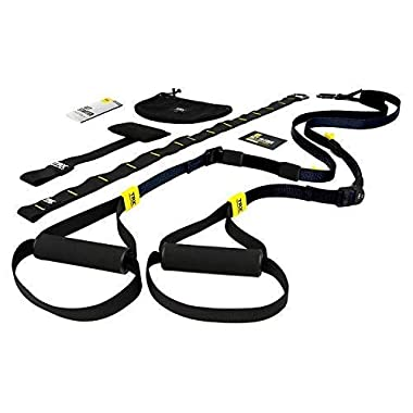 TRX GO Suspension Training: Bodyweight Fitness Resistance Training   Fitness for All Levels & All Goals for Total Body Workouts for Home & Travel   Lightweight & Portable   Workout Poster Included
