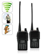 Long Range Walkie Talkie Set (UHF, 110v) long distance walky talky system