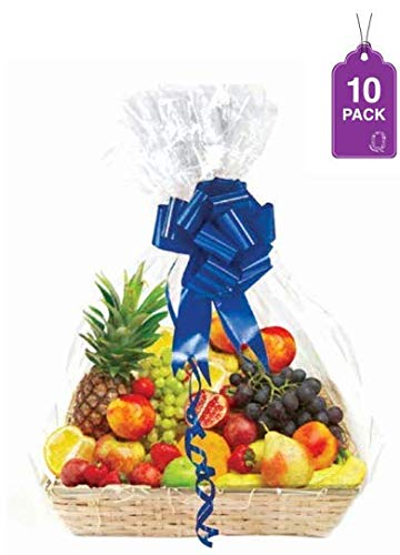 Clear Basket Bags Large