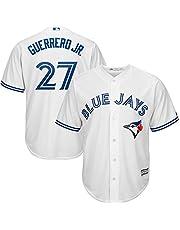 YQSB Camiseta Deportiva Baseball Jersey Uniforme de béisbol Toronto Jays # 27 Guerrero Jr.