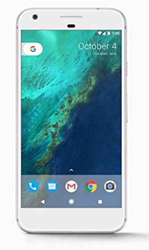 Google Pixel XL 128GB Silver (Unlocked) - (Renewed)