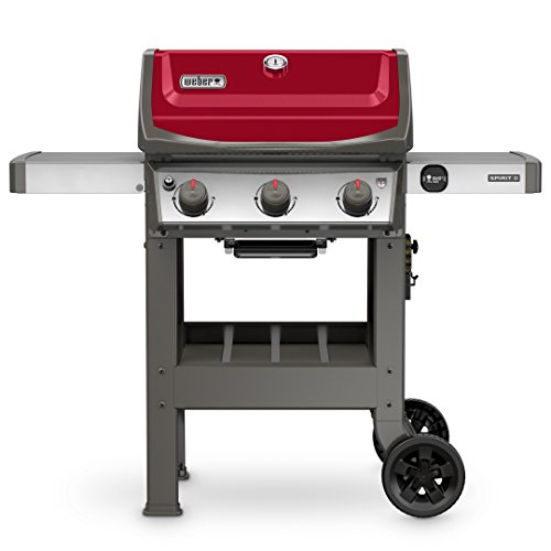 Weber 45030001 Spirit II E-310 Gas Grill LP Outdoor, Red