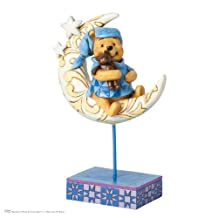 Jim Shore Disney Winnie the Pooh On the Moon Bedtime Bear Figurine 4038499 New