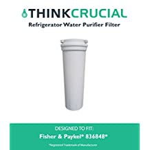 Fisher & Paykel 836848 Refrigerator Water Purifier Filter Fits E402B, E442B, E522B & RF90A180DU, Designed & Engineered by Think Crucial