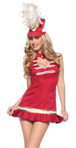 Sexy marching band costume
