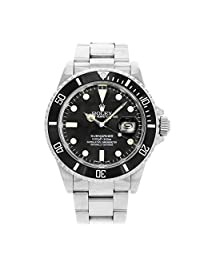 Rolex Submariner Automatic-self-Wind Female Watch 16800 (Certified Pre-Owned)