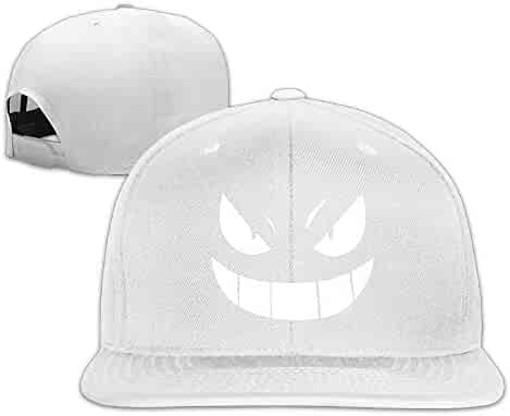 HOIUK Duke Blue Devils Nice Baseball Caps For Everyone caps. (1). P-Jack  Geek Gengar Smile Art Fitted Cap Black cec3c0a72089