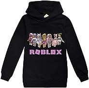 LQBNZQZ Robloxs Hoodies for Girls Boys Fashion Sport Sweatshirt Kid Long Sleeve Shirts Pullover Novelty Cute T