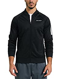 Men's Performance Fleece Lined Warm-Up Track Jacket