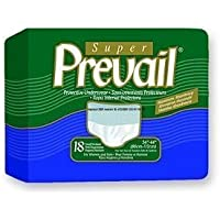 Units Per Case 72 Prevail Protective Underwear - Regular and Super Absorbency Green First Quality PVS512 by First Quality